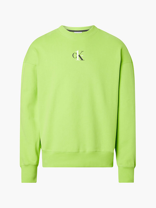 CALVIN KLEIN JEANS  - LIME GREEN -   - image principale