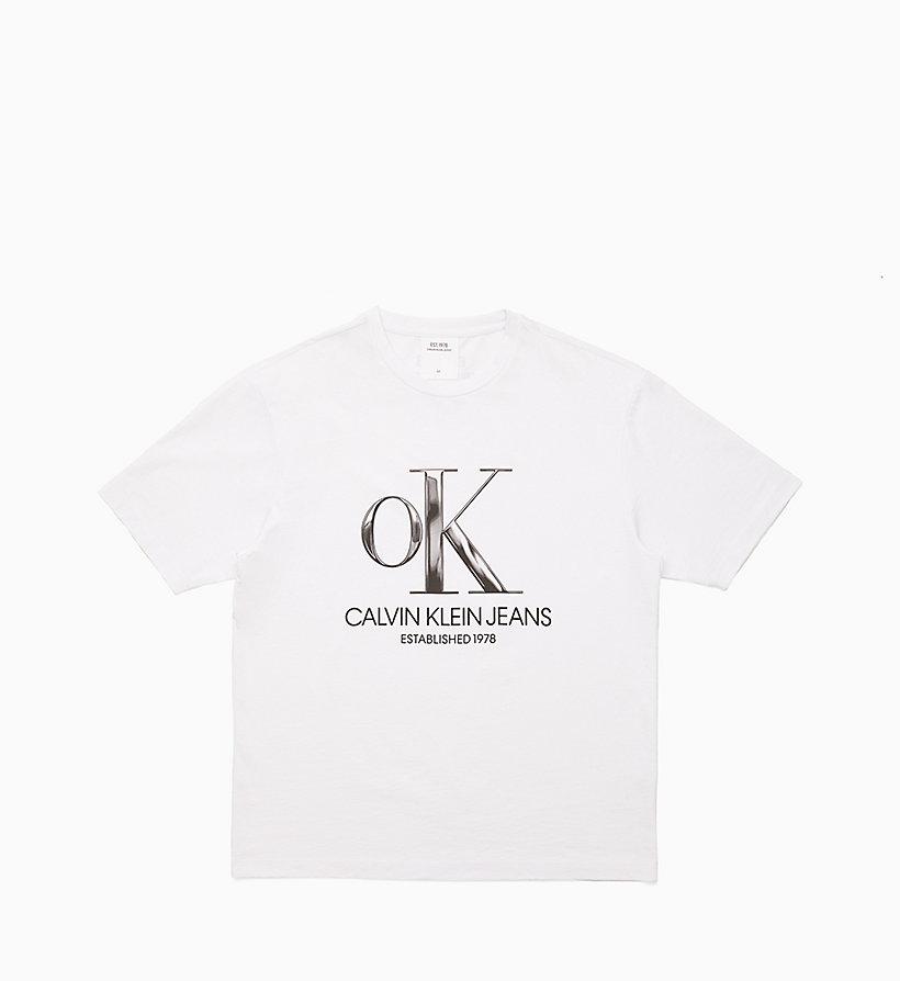 38093e830ef932 OK Logo T-shirt Calvin Klein® | J90J900091001