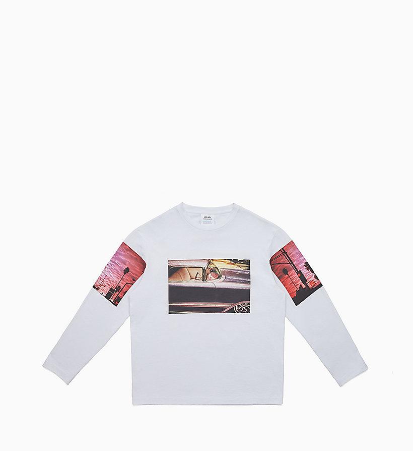76545eb6 Graphic Long Sleeve T-shirt Calvin Klein® | J90J900114001