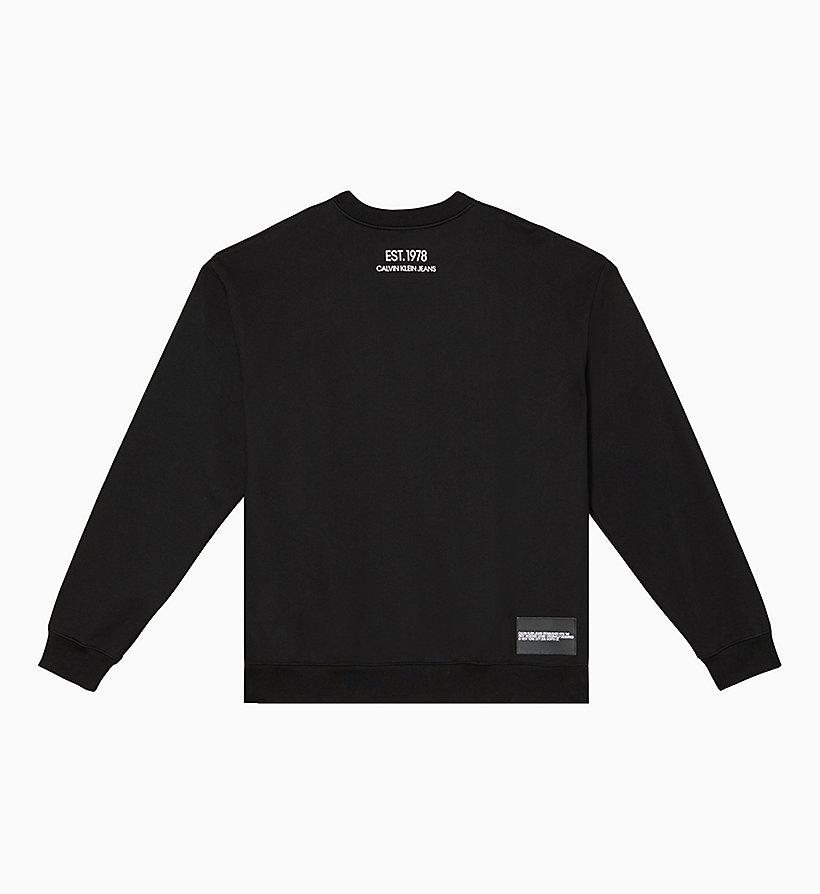 Unisex Lunar Ascent Ok Logo Sweatshirt by Calvin Klein