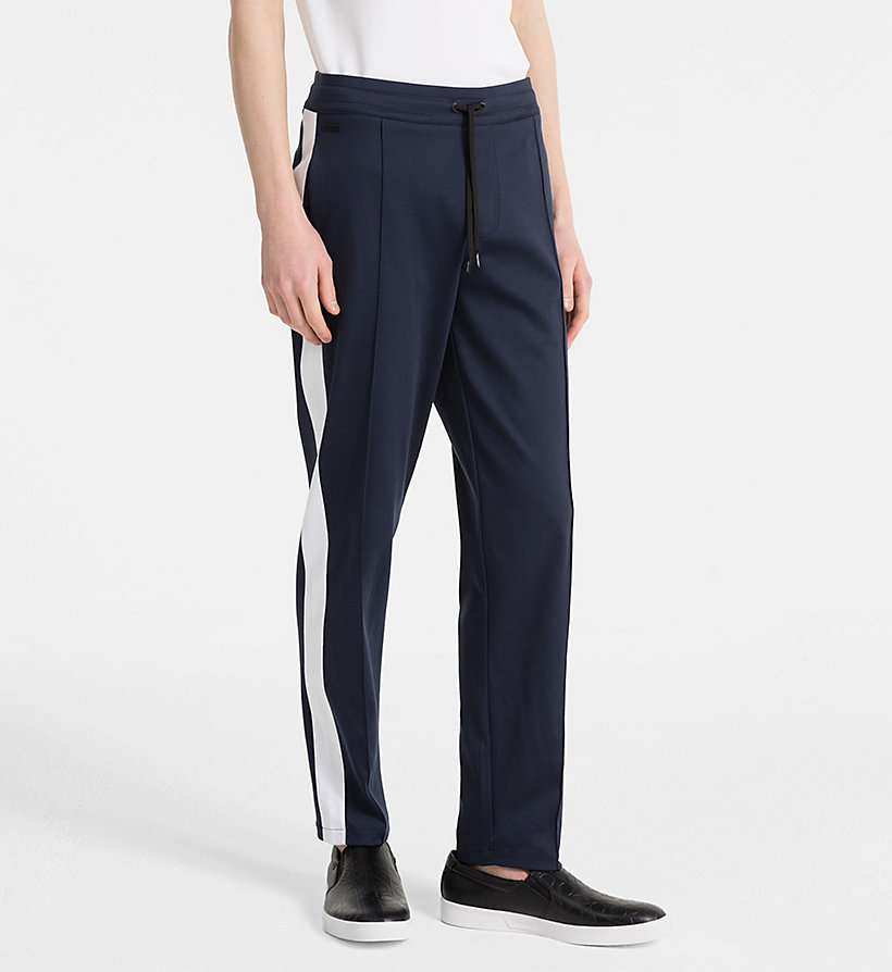 CALVINKLEIN Bonded Jersey Jogging Pants - PERFECT BLACK - CALVIN KLEIN MEN - main image