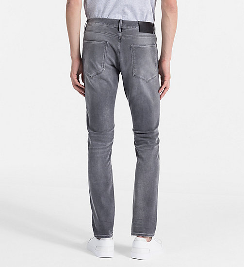 CALVINKLEIN Straight Jeans - NOBLE GREY - CALVIN KLEIN NEW IN - detail image 1