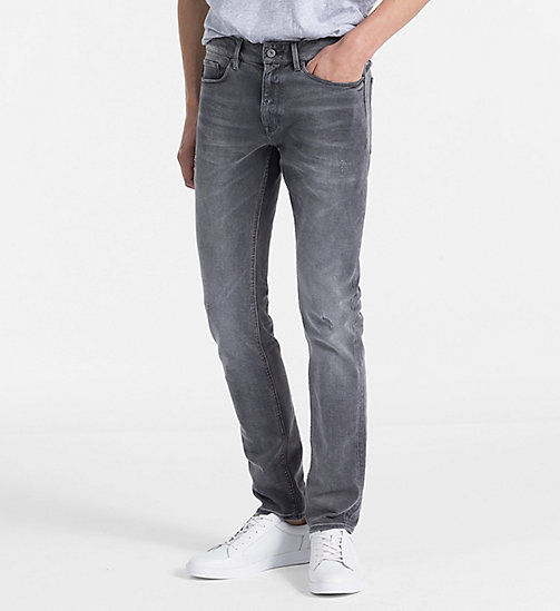CALVINKLEIN Straight Jeans - NOBLE GREY - CALVIN KLEIN NEW IN - main image