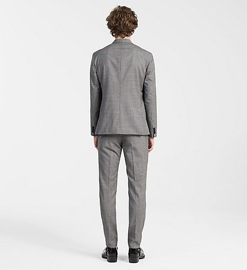 CALVINKLEIN Virgin Wool Check Suit - ALLOY - CALVIN KLEIN CLOTHES - detail image 1