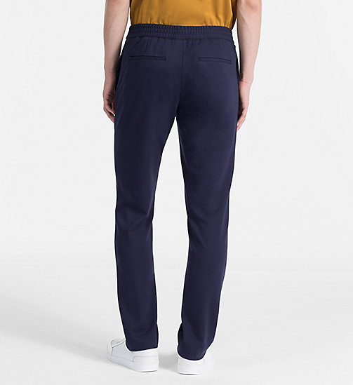 CALVINKLEIN Fitted Jersey Trousers - BLUE NIGHTS -  MODERN VARSITY - detail image 1
