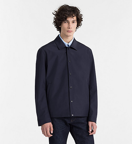 CALVINKLEIN Bonded Canvas Jacket - SKY CAPTAIN - CALVIN KLEIN BACK IN BUSINESS - main image