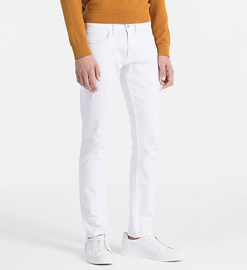 CALVINKLEIN Slim Jeans - MORGAN WHITE? - CALVIN KLEIN CLOTHES - main image