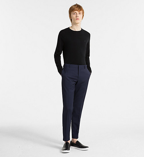 CALVINKLEIN Cotton Silk Jumper - BLACK - CALVIN KLEIN NEW IN - detail image 1