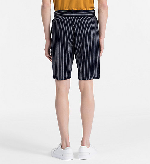 CALVINKLEIN Nadelstreifen-Jacquard-Shorts - SKY CAPTAIN -  NEW IN - main image 1