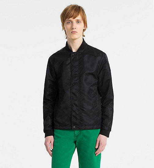 CALVINKLEIN Nylon Bomber Jacket - TRUE NAVY - CALVIN KLEIN CLOTHES - main image
