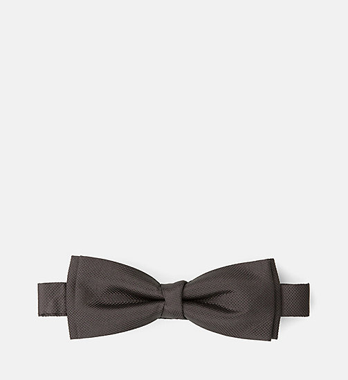 CALVINKLEIN Silk Bow Tie - PERFECT BLACK - CALVIN KLEIN MEN - main image
