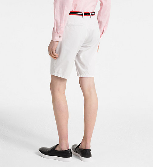 CALVINKLEIN Chino Shorts with Tape Trim - LUNAR ROCK - CALVIN KLEIN GET SMART - detail image 1