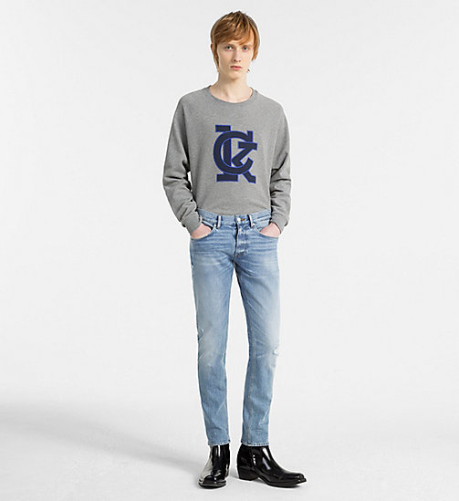 CALVIN KLEIN Джинсы Straight - ALPINE INDIGO - CALVIN KLEIN NEW DENIM - подробное изображение 1