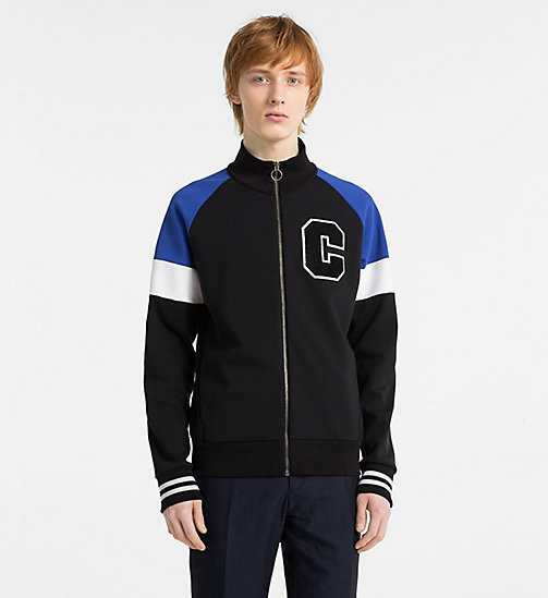 CALVINKLEIN Bonded Jersey Track Jacket - PERFECT BLACK - CALVIN KLEIN CLOTHES - main image