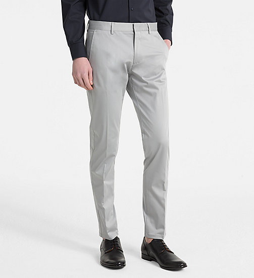 CALVINKLEIN Slim Chino Trousers - ALLOY - CALVIN KLEIN NEW IN - main image