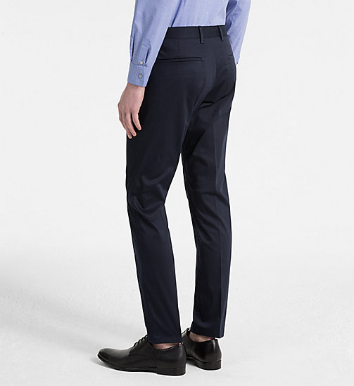 CALVINKLEIN Slim Chino Trousers - SKY CAPTAIN - CALVIN KLEIN CLOTHES - detail image 1