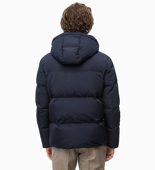 CALVINKLEIN Hooded Down Puffer Jacket - 413-SKY CAPTAIN - CALVIN KLEIN CLOTHES - detail image 1