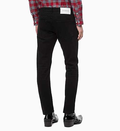 CALVINKLEIN Straight Jeans - HENRY BLACK - CALVIN KLEIN CLOTHES - detail image 1