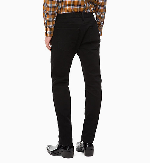 CALVINKLEIN Straight Jeans - HAMPDEN BLACK - CALVIN KLEIN THE DENIM INDEX - main image 1