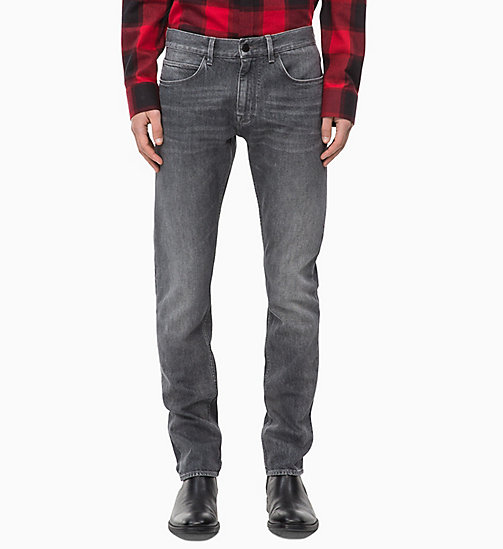CALVINKLEIN Straight Jeans - MELROSE GREY - CALVIN KLEIN THE DENIM INDEX - main image