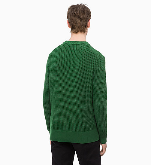 CALVINKLEIN Combed Cotton Jumper - EDEN - CALVIN KLEIN NEW IN - detail image 1