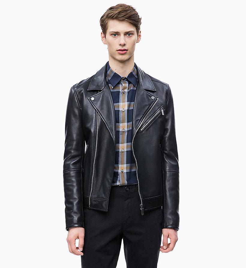 299a87142 Leather Biker Jacket Calvin Klein® | K10K103427013