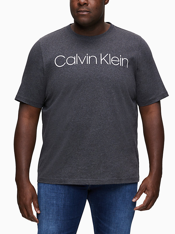 CALVIN KLEIN  - DARK GREY HEATHER -   - main image