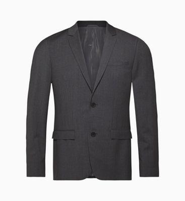 ce7b940c134c Blazer slim elasticizzato in lana da abbigliamento da uomo Calvin ...