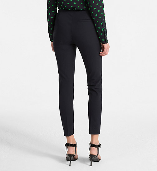 CALVINKLEIN Leggings aus Stretch-Baumwolle - LIGHT NAVY - CALVIN KLEIN CLOTHES - main image 1