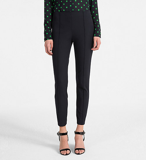 CALVINKLEIN Cotton Stretch Leggings - LIGHT NAVY - CALVIN KLEIN TROUSERS - main image