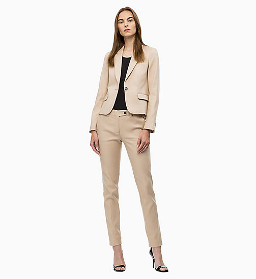 CALVINKLEIN Cotton Stretch Blazer - CHINO - CALVIN KLEIN JACKETS - detail image 1