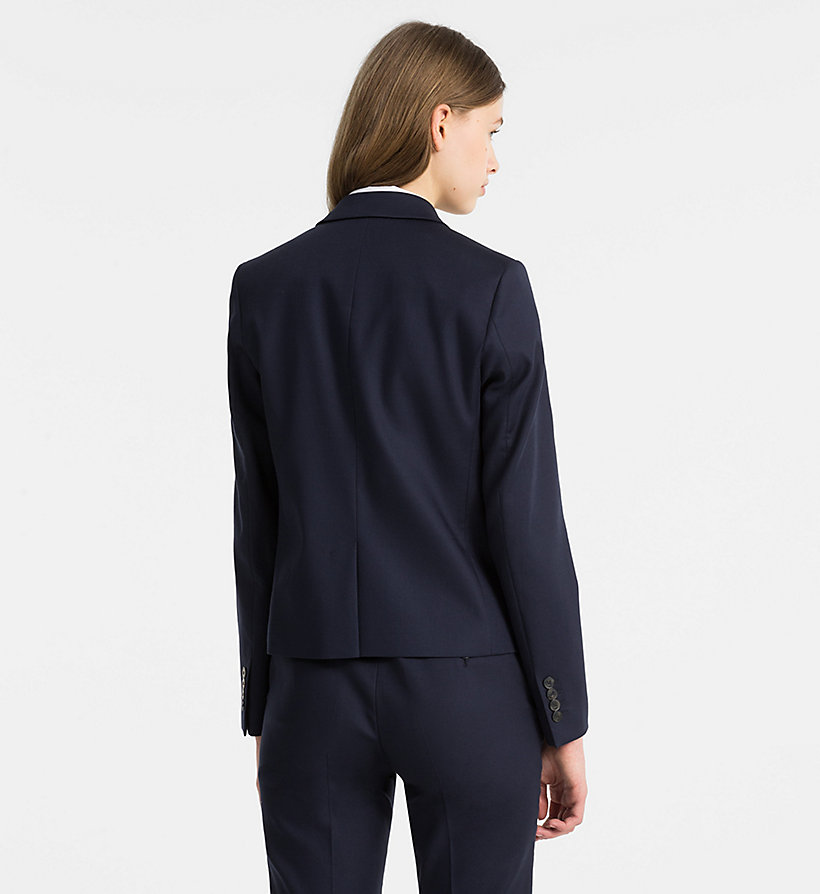 CALVINKLEIN Cotton Stretch Blazer - CHINO - CALVIN KLEIN WOMEN - detail image 3
