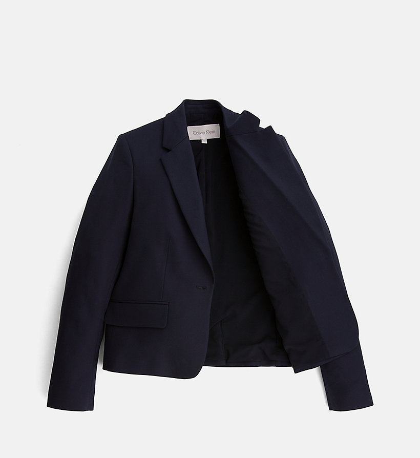 CALVINKLEIN Cotton Stretch Blazer - CHINO - CALVIN KLEIN WOMEN - detail image 4