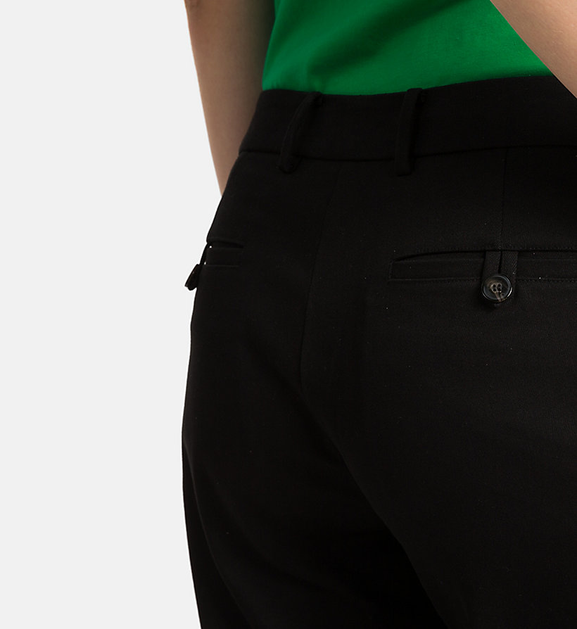 CALVINKLEIN Cropped Chino Trousers - CHINO - CALVIN KLEIN WOMEN - detail image 2