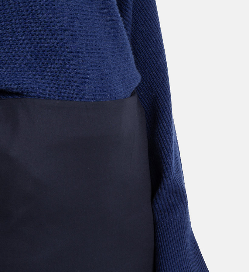 CALVINKLEIN Cotton Stretch Pencil Skirt - CHINO - CALVIN KLEIN WOMEN - detail image 1