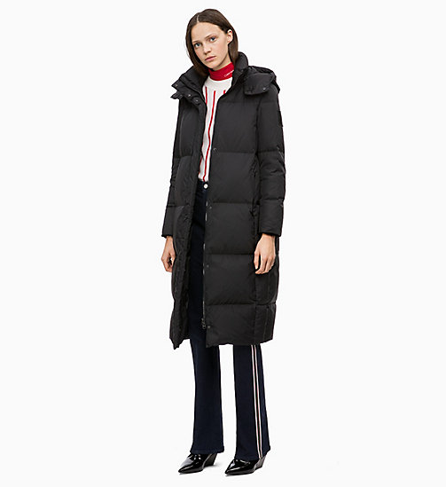 CALVINKLEIN Padded Down Coat - BLACK - CALVIN KLEIN JACKETS - detail image 1