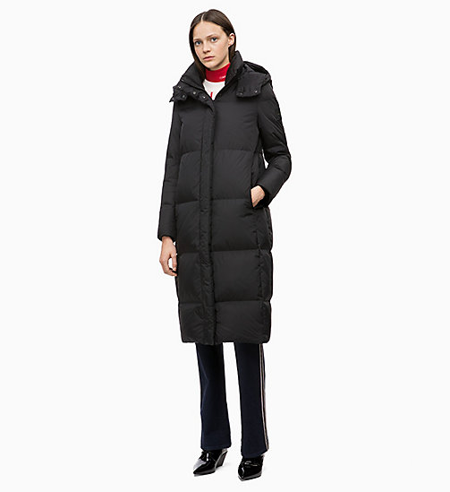 CALVINKLEIN Padded Down Coat - BLACK - CALVIN KLEIN JACKETS - main image