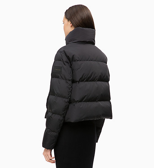 CALVINKLEIN Quilted Down Jacket - BLACK - CALVIN KLEIN NEW IN - detail image 1