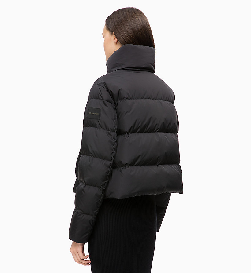CALVIN KLEIN Quilted Down Jacket - WHITE - CALVIN KLEIN WOMEN - detail image 1