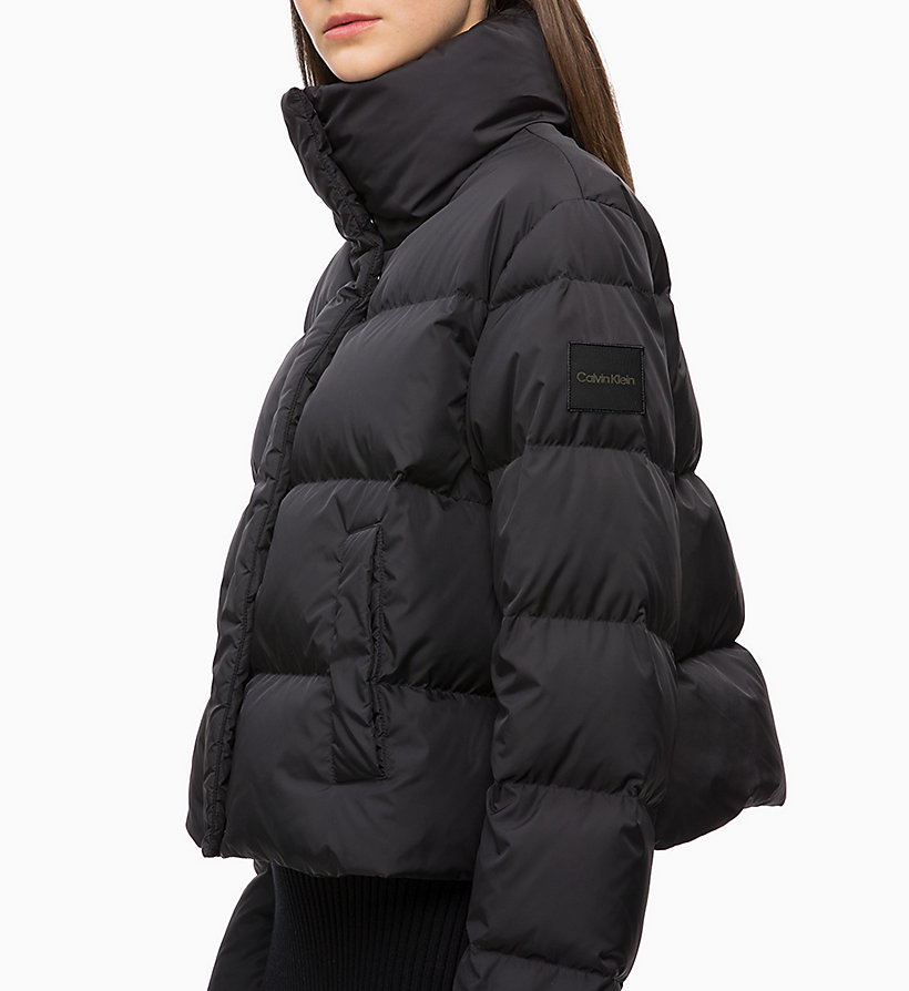 CALVINKLEIN Quilted Down Jacket - WHITE - CALVIN KLEIN WOMEN - detail image 2