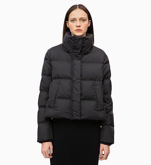CALVINKLEIN Quilted Down Jacket - BLACK - CALVIN KLEIN NEW IN - main image