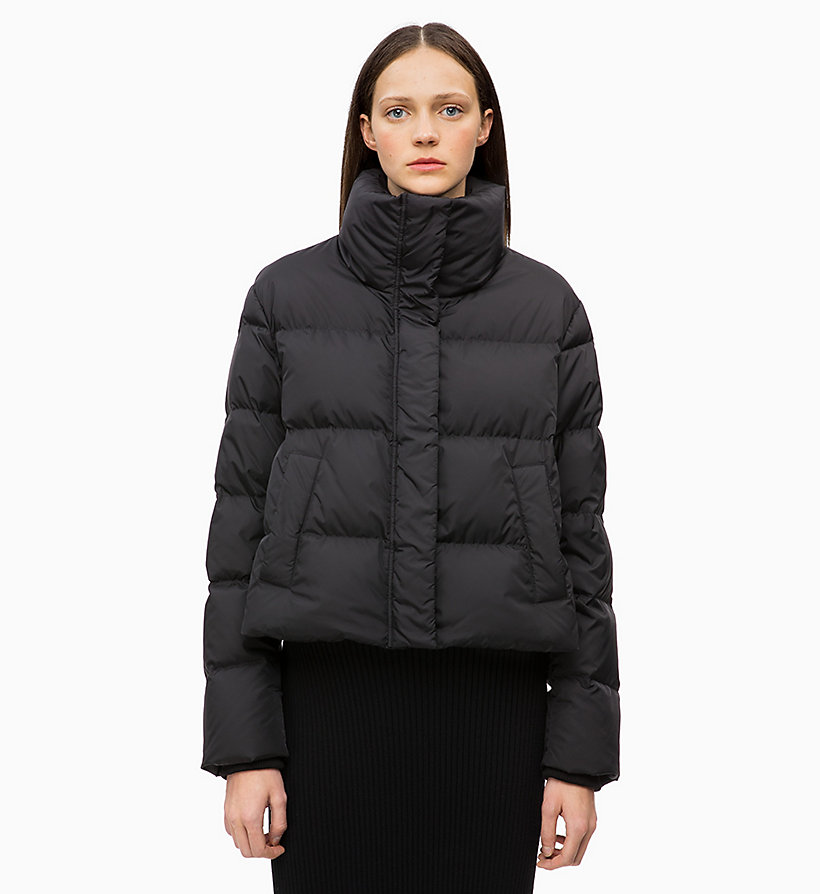 CALVINKLEIN Quilted Down Jacket - WHITE - CALVIN KLEIN WOMEN - main image