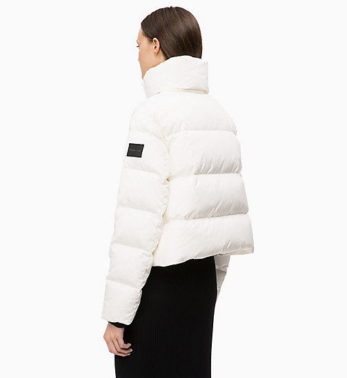 CALVINKLEIN Quilted Down Jacket - WHITE - CALVIN KLEIN CLOTHES - detail image 1