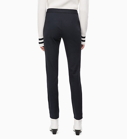 CALVINKLEIN High Rise Leggings - DEEP NAVY - CALVIN KLEIN INVEST IN COLOUR - detail image 1