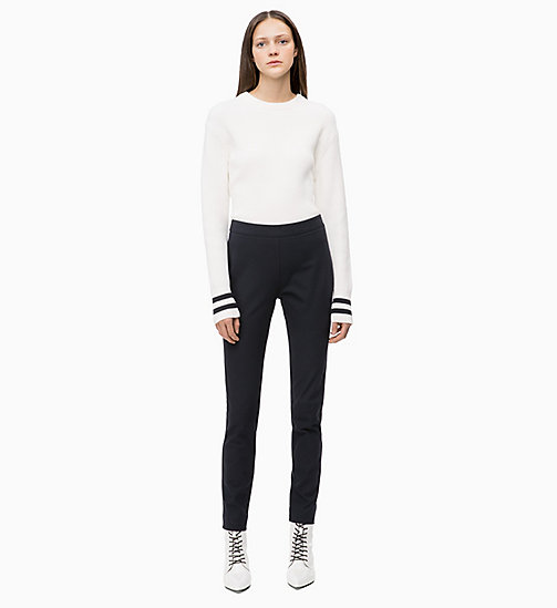 CALVIN KLEIN High Rise Leggings - DEEP NAVY - CALVIN KLEIN CALVIN KLEIN WOMENSWEAR - detail image 1