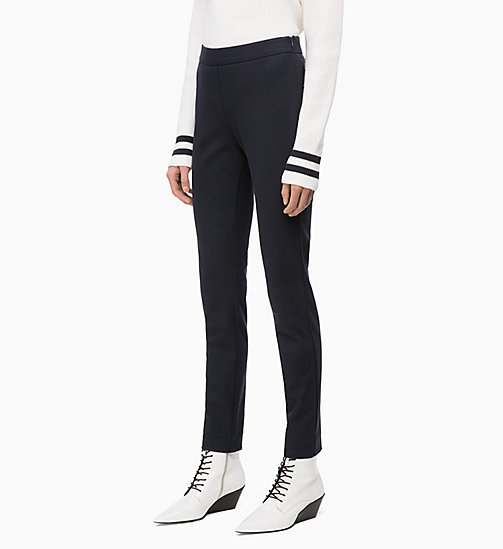 CALVIN KLEIN High Rise Leggings - DEEP NAVY - CALVIN KLEIN CALVIN KLEIN WOMENSWEAR - main image