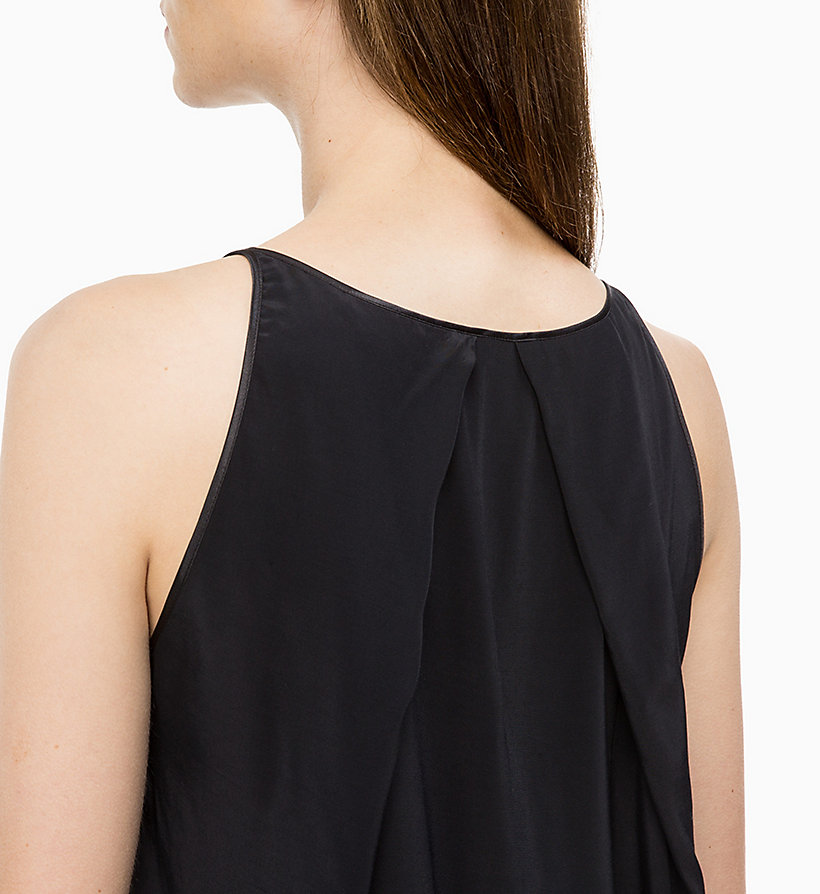 CALVINKLEIN Drape Back Top - CHALK - CALVIN KLEIN WOMEN - detail image 2