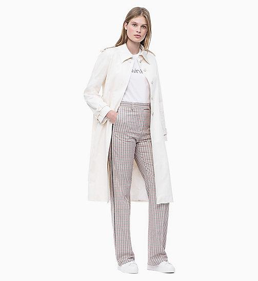 fa5e54e4968c9 €179.90Check Side-Stripe Trousers