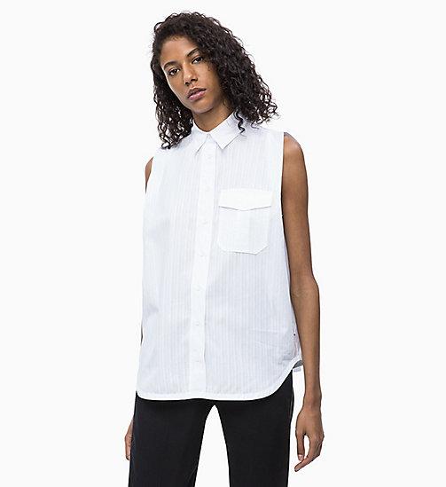 754db3a22a5 Рубашка без рукавов в полоску