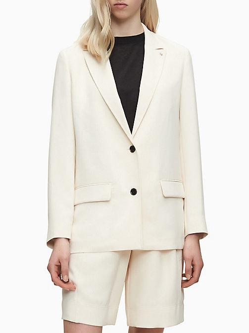 Snone Blazer da Donna Giacca Cappotto Giacca da Ufficio Suit